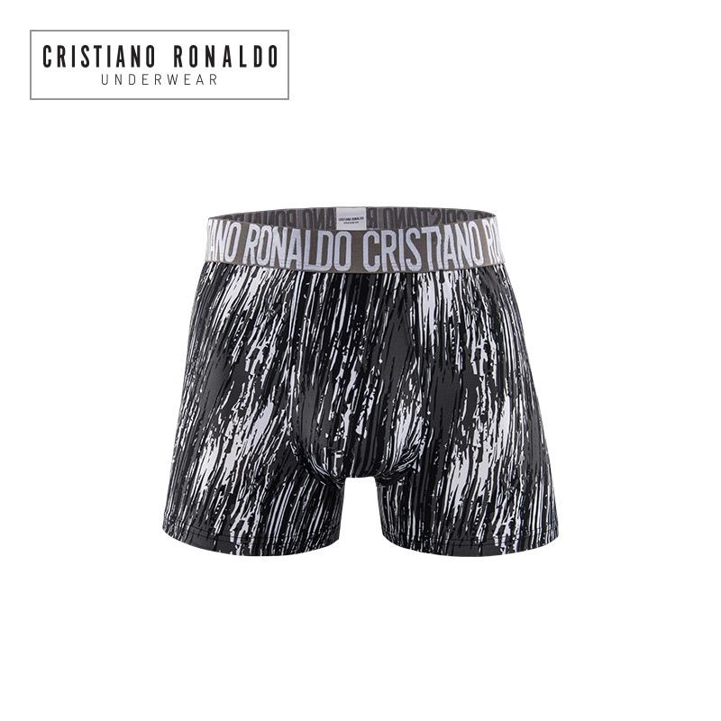 尤文C罗男士内裤性感平角裤青年透气四角裤皇马曼联CR7运动短裤