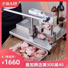 切骨机手动切排骨机商用切猪脚斩猪蹄铡割剁骨头机家用小型锯骨机