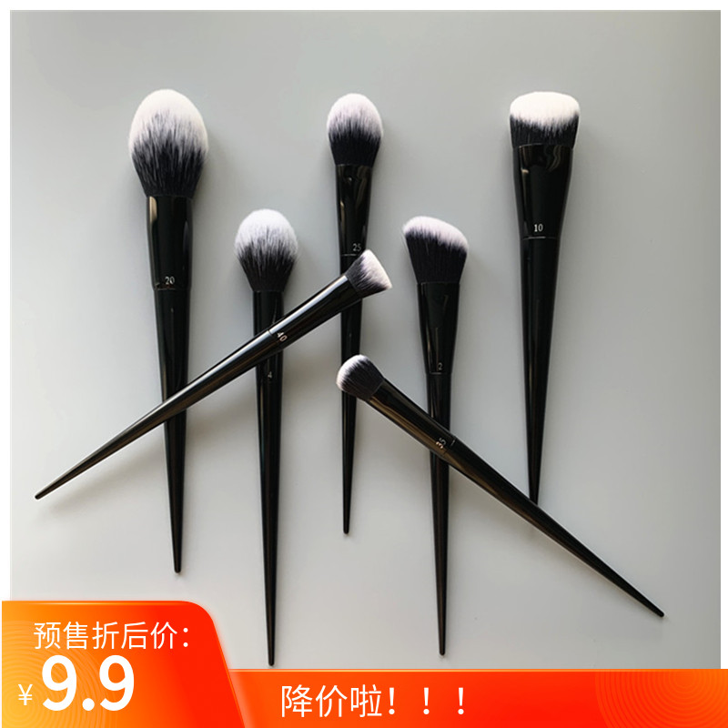 KVD large face set 10# foundation brush brush blush brush high gloss brush 35 slope nose shadow brush powder brush