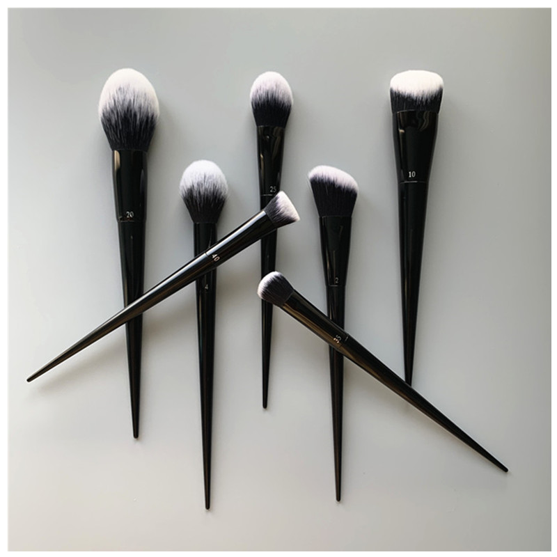 KVD large face set 10# foundation brush brush blush brush high gloss brush 35 slope nose shadow brush powder brush