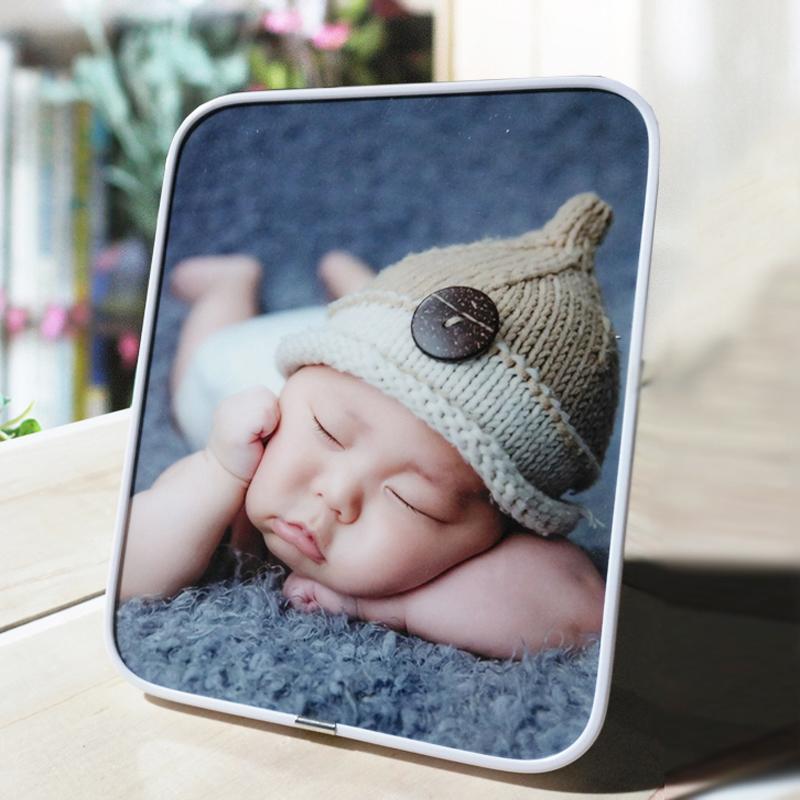 拉菲版画7-48寸摆台制作宝宝照全家福照片定制婚纱照冲印放大相框
