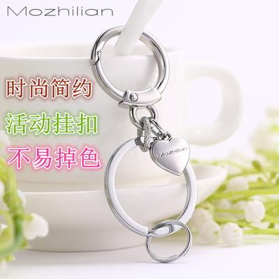 钥匙扣女 韩国 可爱个性多功能男士腰挂汽车钥匙挂件钥匙链大圈环