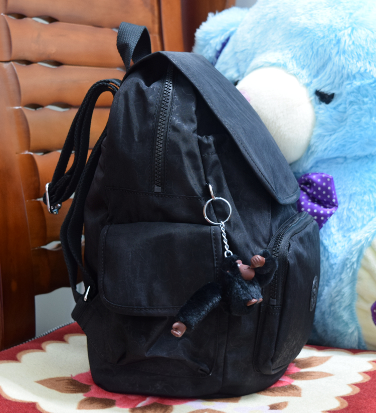 K family monkey bag leisure nylon water splashing backpack k15635 lightweight wear resistant schoolbag