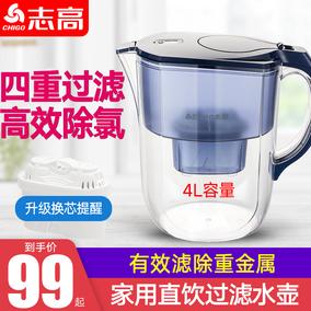 志高净水壶自来水家用厨房滤水壶