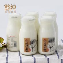 悠纯200gx6瓶上海味道老酸奶