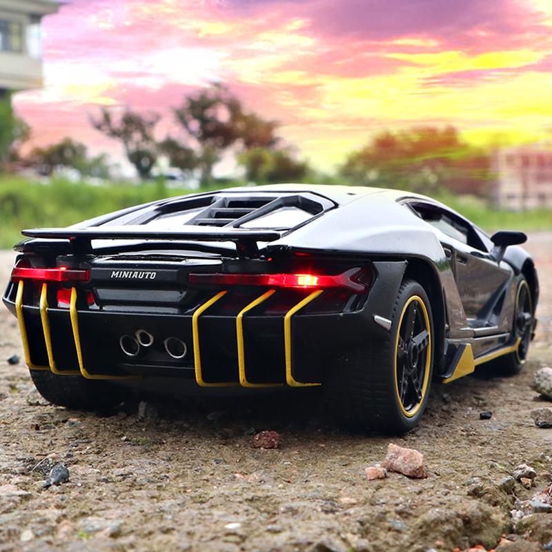兰博基尼LP770跑车汽车模型仿真合金男孩大G越野车车模儿童玩具车