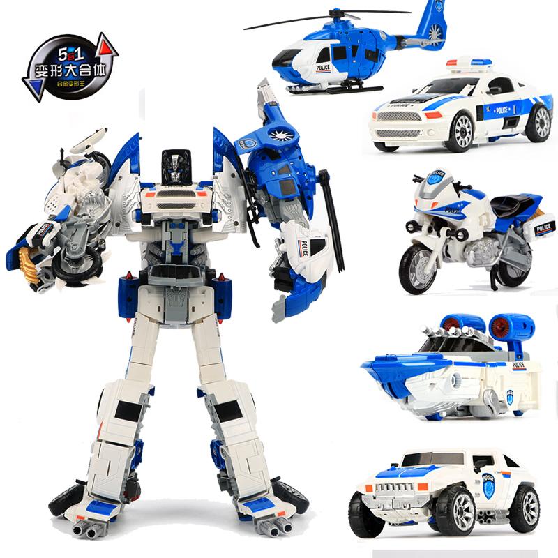 Ребенок мальчик сплав деформировать игрушка алмаз подходить подлинный модель автомобиль робот самолет мотоцикл полиция автомобиль
