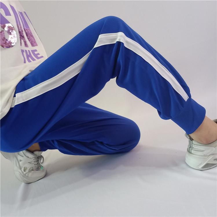 校服男女收口宽松运动高中长裤