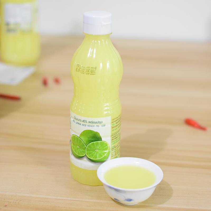 泰国进口酸柑水酸橙汁柠檬醋45%青柠饮料汁350ml泰式凉拌沙拉调料