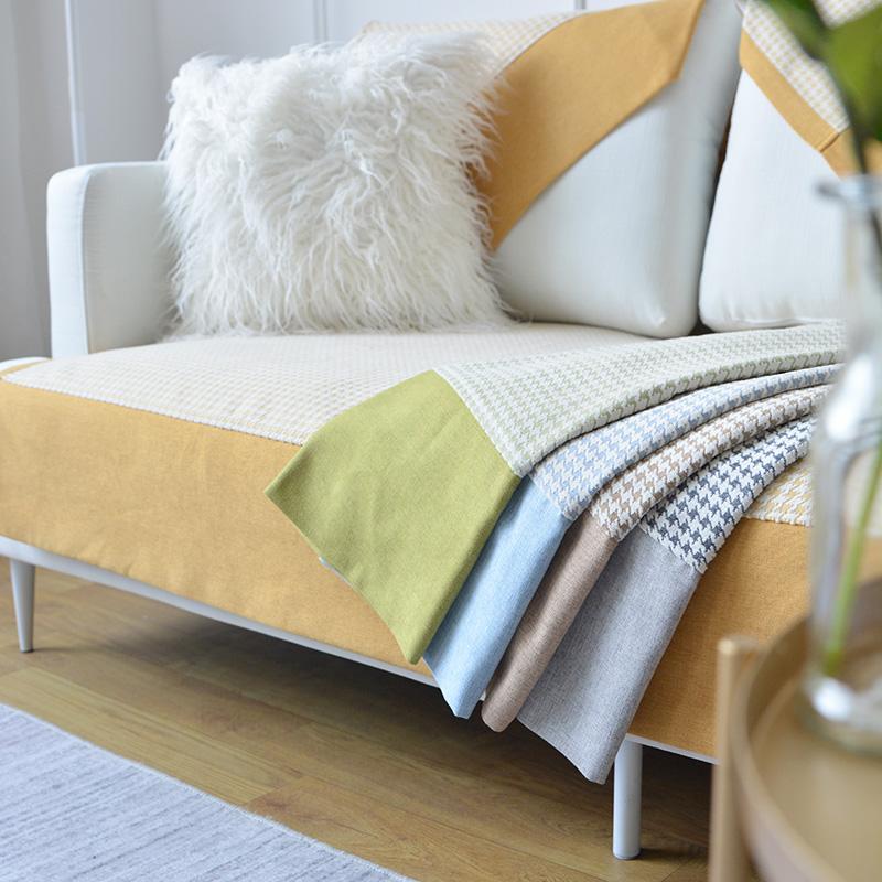 沙发垫雪尼尔加厚四季垫盖布靠背巾11月05日最新优惠