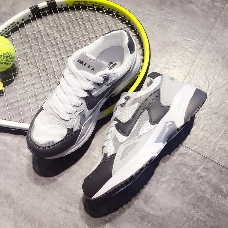 Chaussures de printemps femme en PU ronde sangles croisées, Modèles mélangées, Génoise, étanche - semelle caoutchouc - Ref 997991 Image 4