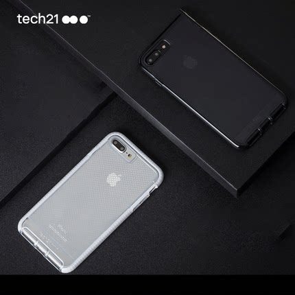 tech21 EVO CHECK <font color='red'><b>iPhone</b></font> 7 / 7 Plus 超薄保护壳
