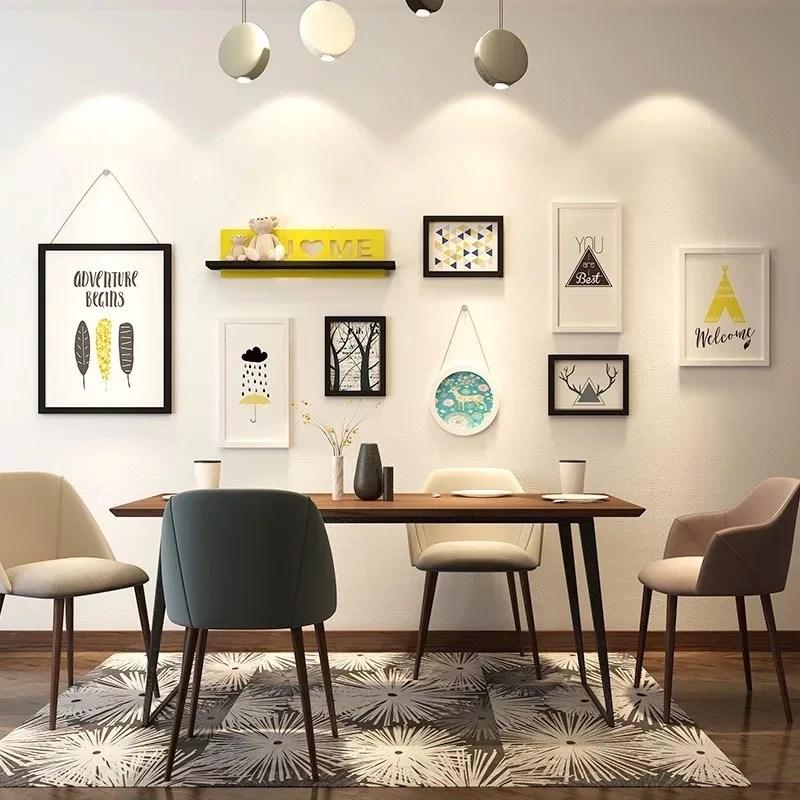 现代简约餐厅墙壁装饰挂件创意客厅家居墙面上挂饰卧室房间装饰品