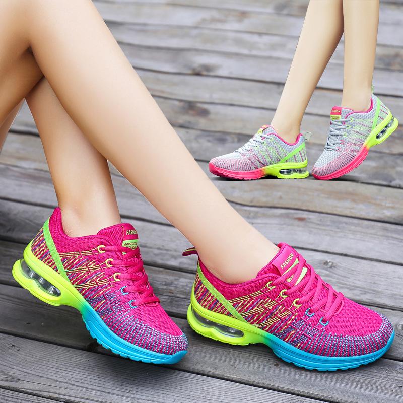 恩施耐克正品牌春秋季气垫网面女鞋限7000张券