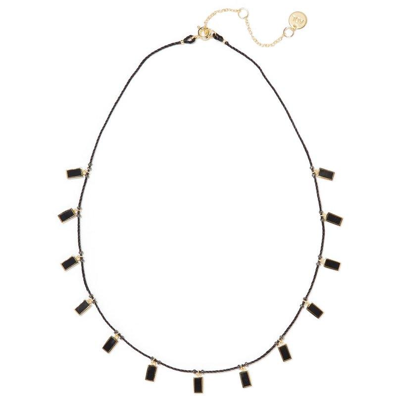 包税代购2018 Arme De L'amour 女士 搪瓷绳索镀金项链