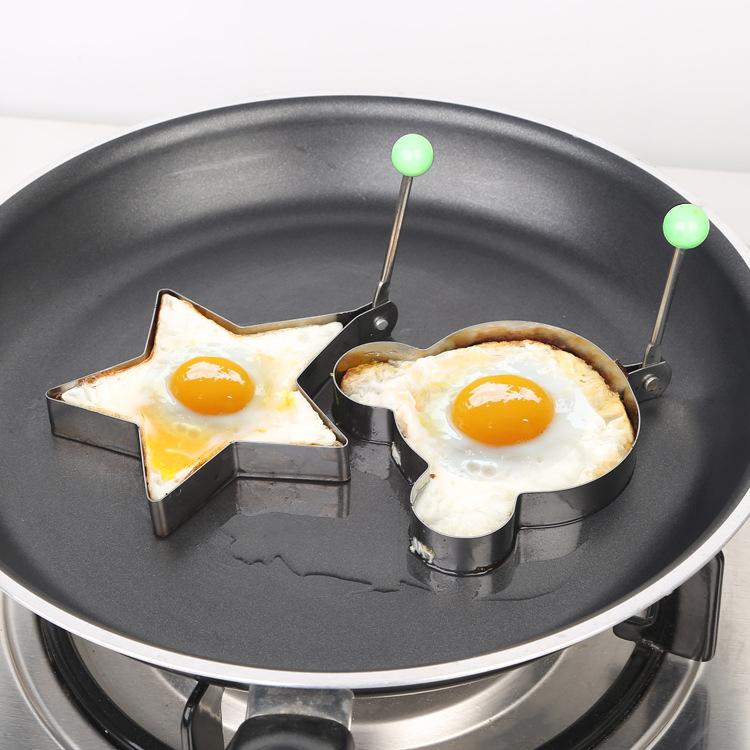 不锈钢煎蛋器 爱心煎蛋器早餐烘焙模型 心形煎蛋器小工具30005
