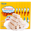 Deep Water Bay cod intestine corn flavor baby food supplement children's snacks ready to eat imported fish sausage 75g * 10 boxes