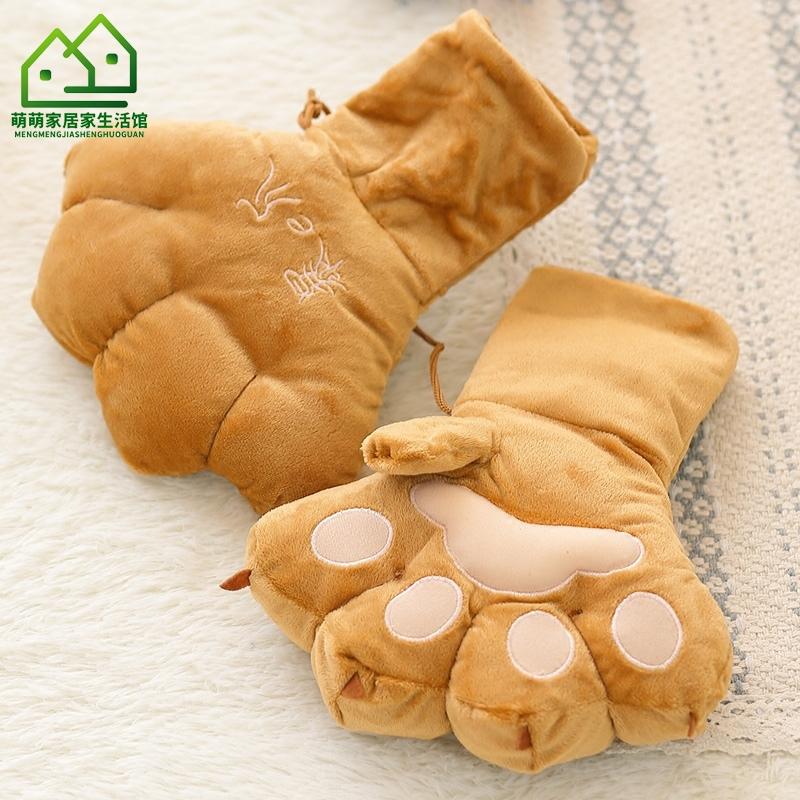 Мужские перчатки без пальцев Артикул 608838874257