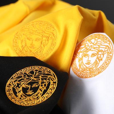 20夏季新款简约高品质丝光棉男士刺绣短袖t恤男2031-2020-P55