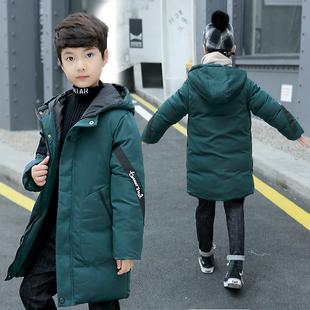 男童冬装棉衣2021新款5-13岁男孩中大童洋气棉袄棉服加厚外套潮衣