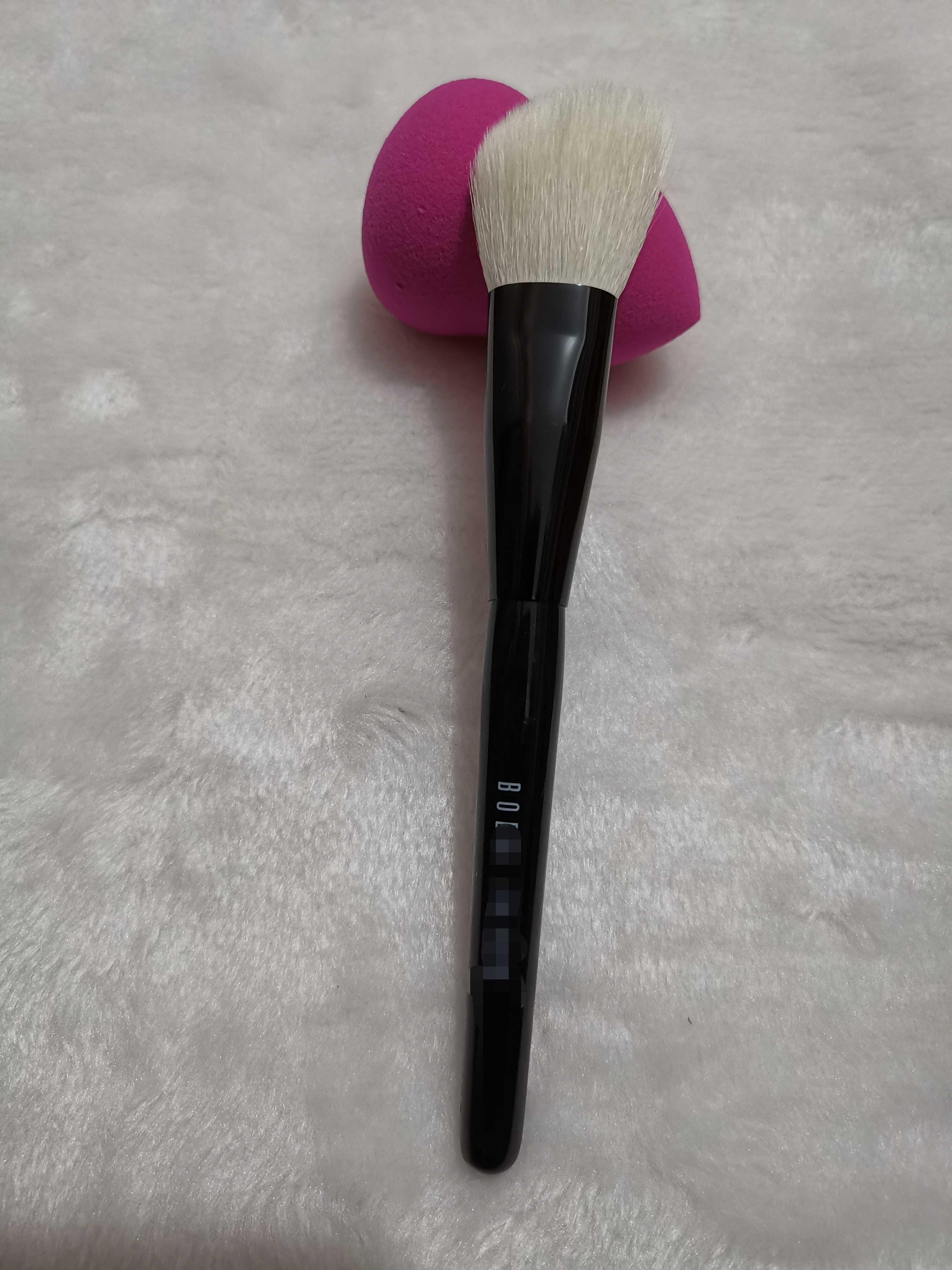 促销芭比家化妆刷白羊毛刷斜型多功能刷散粉刷腮红刷修容刷