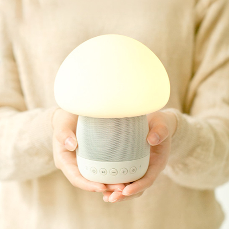 Визг дизайн emoi основной жизнь умный гриб звук светлая музыка свет будильник беспроводной bluetooth динамик DX