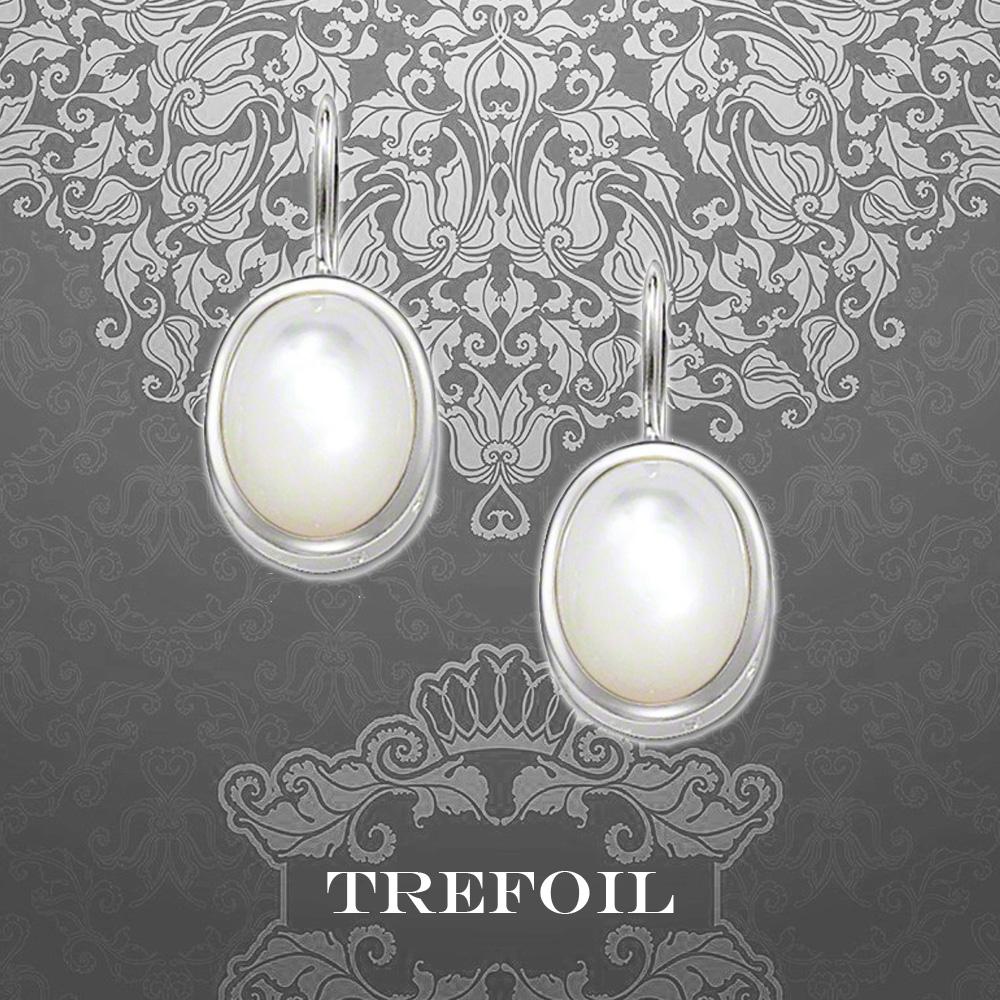Opal oval simple Chaoren 925 Silver Earrings net red same Earrings temperament Korean personality short hair Earrings