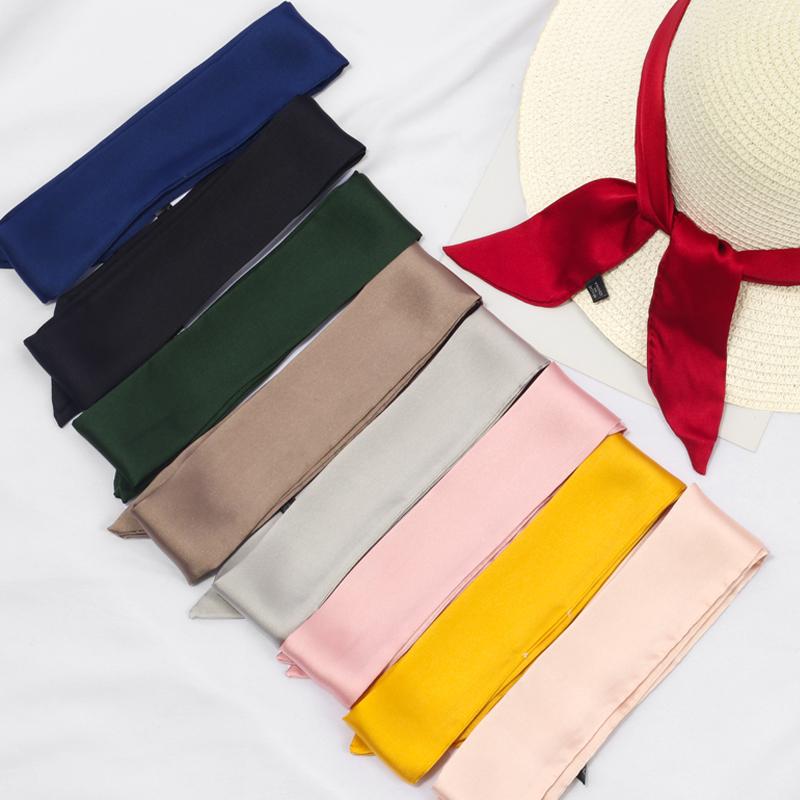 手提包系 缠 绑包包手柄丝巾韩版夏季加长小丝带窄领巾包带装饰女