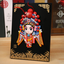 Tang Li Peking Opera Facebook decoration Chinese special gifts send foreigners abroad Chinese wind small gift handicrafts