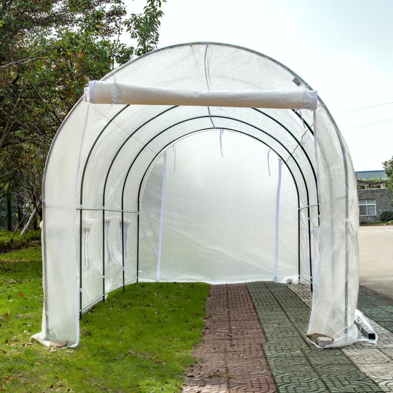 多尺寸暖房花房温室多肉植物花卉防冻防雨大棚庭院蔬菜家禽养殖棚
