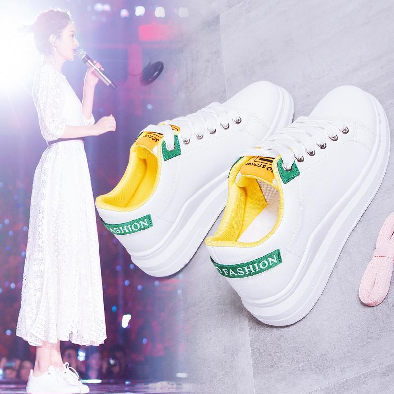 透气小白鞋镂空2020年新款春季女鞋