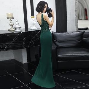 高端晚礼服裙女2021新款夏宴会长裙