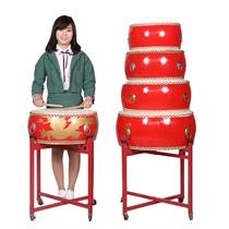 121416182024寸牛皮鼓堂鼓大人儿童舞蹈鼓教师上课节奏红鼓