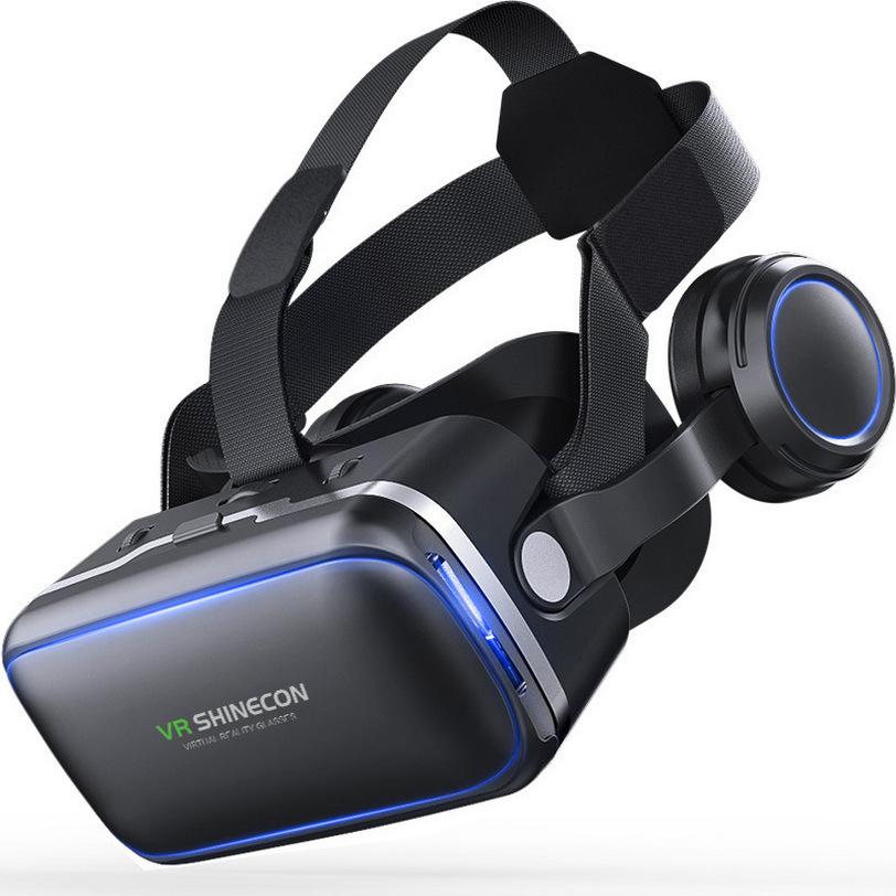 千幻6代耳机版 3D虚拟现实暴风魔镜VR眼镜手机游戏头盔 SHINECON