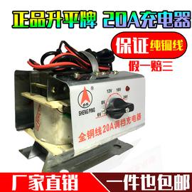 升平纯铜6V12V24V老式充电器快速充电动车汽车摩托电瓶全铜充电器图片