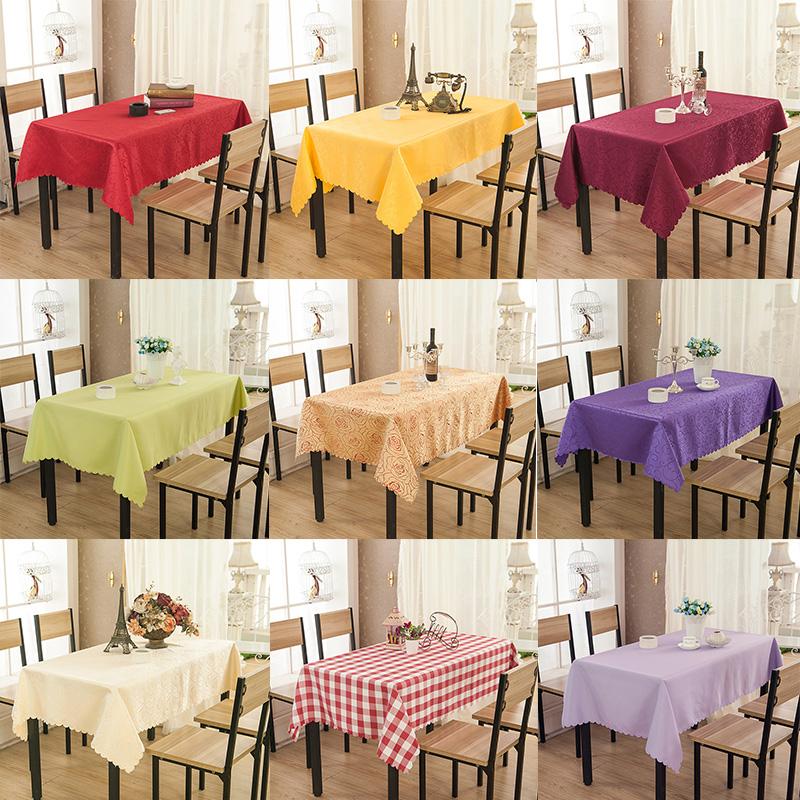定做飯店正方形餐桌布酒店家用客廳長方形小茶几檯布布藝歐式田園