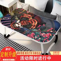 来图定制小桌子床上可折叠二次元动漫周边磨砂大学生笔记本电脑桌