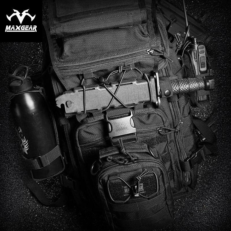 马盖先X7战术背包双肩男 户外军迷彩多功能登山骑行野营旅行电脑
