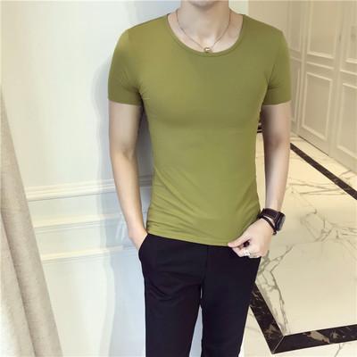18年夏季新款短袖T恤 圆领纯棉店主风跑量款B220-T702-P20