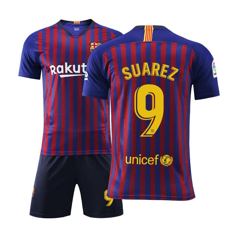正版球衣19-20巴塞罗那主场10号17格列兹曼 3皮克足球服