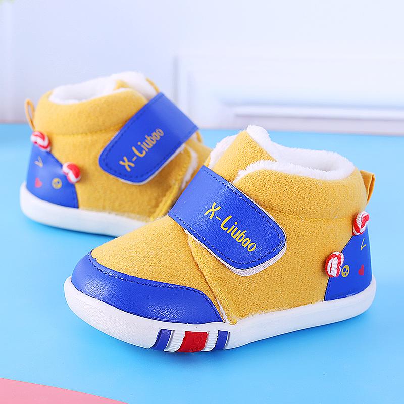 宝宝学步鞋0-1-3岁男女宝宝鞋子防滑软底机能鞋男女童春秋单鞋