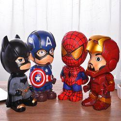 创意存钱罐卡通蜘蛛侠零钱储蓄罐防摔送男孩生日礼物儿童节礼品