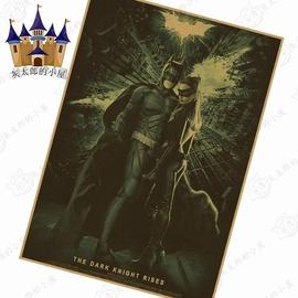 墙画小丑蜘蛛侠壁画寝室蝙蝠侠海报 海报贴纸漫威宿舍墙纸墙壁图片