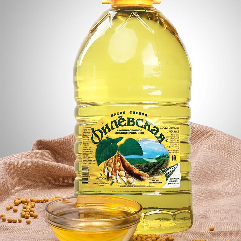 俄罗斯进口营养菲廖夫斯卡耶大豆油  食用油  烹调少烟  一桶包邮