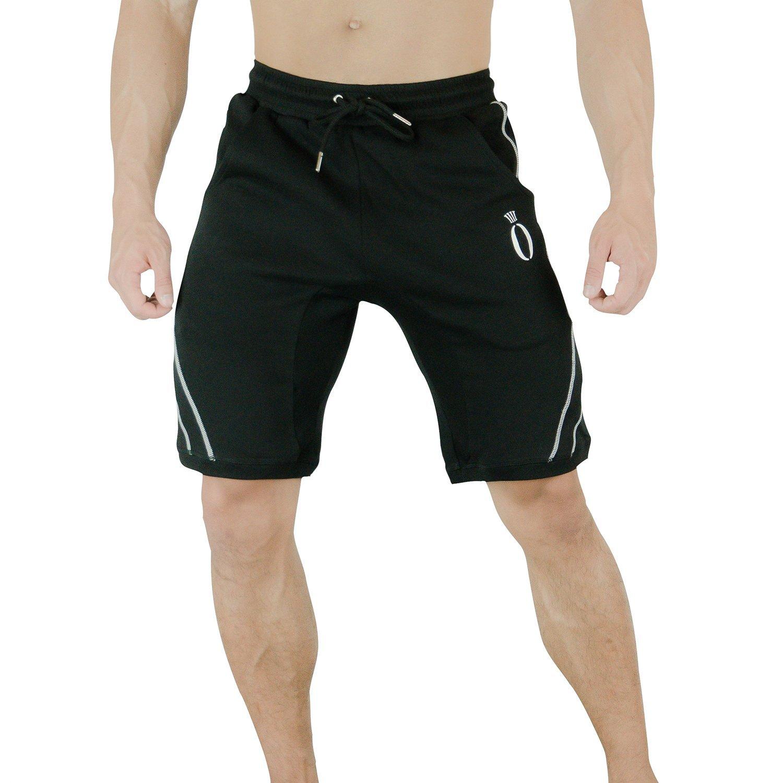 肌肉兄弟运动休闲透气短裤男健身裤跑步训练五分裤夏季新款潮篮球
