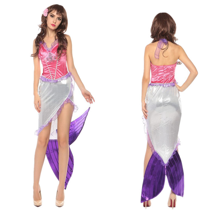 Cosplay Mermaid role play costume for Halloween