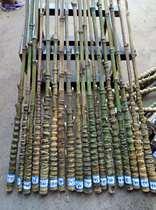 罗汉竹材料鱼竿把手京胡杆子教鞭冰钓杆把手炮台杆