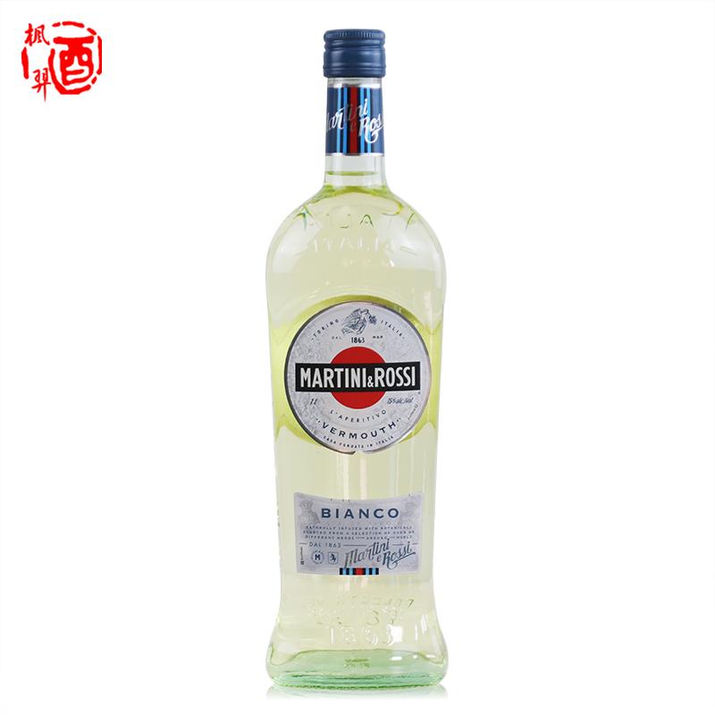 马天尼白威末酒 1000ml 苦艾酒 洋酒 白味美思 鸡尾酒调酒