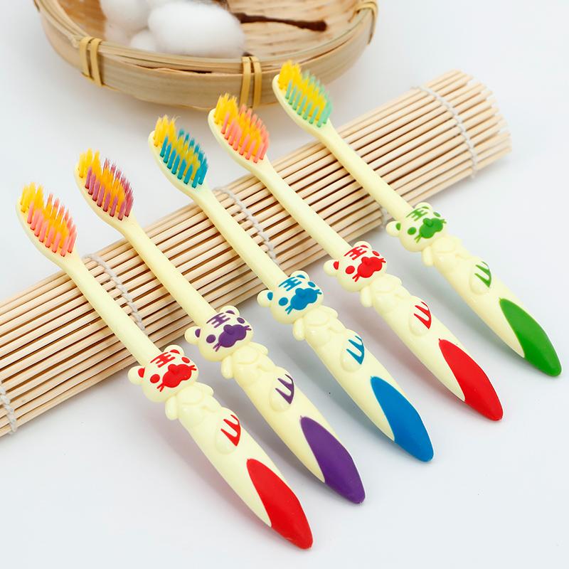 雅康贝贝虎软毛3-6-12岁宝宝软牙刷
