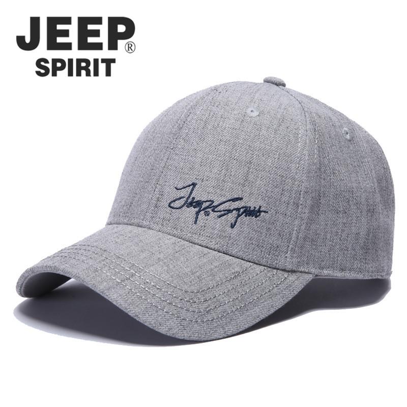 Jeep baseball cap mens Hat Wool sunshade hat four seasons sports outdoor leisure mens and womens hip hop cap